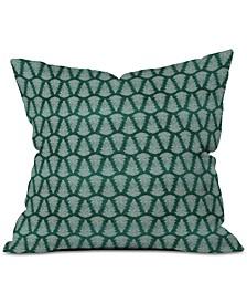 Little Arrow Design Co Fern On Forest Throw Pillow