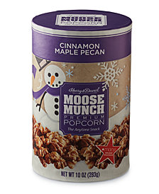Harry & David's Cinnamon Maple Pecan Moose Munch Gourmet Popcorn Canister