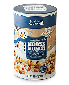 Harry & David's  Caramel Moose Munch Gourmet Popcorn Holiday Canister
