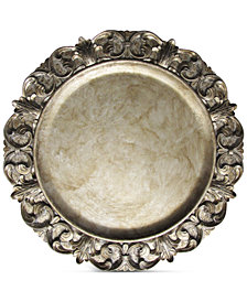Jay Imports American Atelier Silver Charger Plate