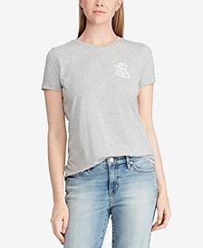 Lauren Ralph Lauren Petite Monogram T-Shirt