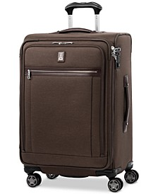 "Platinum Elite 25"" Softside Spinner Suitcase"