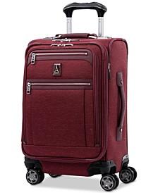 "Platinum Elite 20"" Softside Business Plus Carry-On Spinner Suitcase"