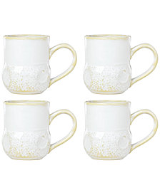 Lenox-Wainwright Boho Beach 4-Pc. Mug Set, Created for Macy's