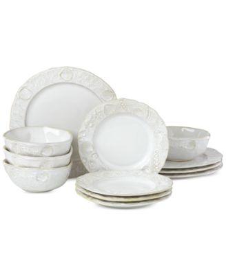 Lenox-Wainwright Boho Beach 12-Pc. Dinnerware Set, Service for 4, Created for Macy's