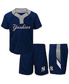 Outerstuff New York Yankees Ground Rules Short Set, Toddler Boys (2T-4T)