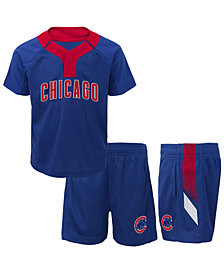 Outerstuff Chicago Cubs Ground Rules Short Set, Toddler Boys (2T-4T)
