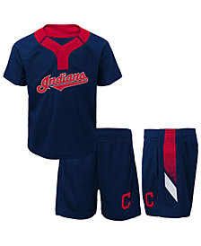 Outerstuff Cleveland Indians Ground Rules Short Set, Infants (12-24 Months)