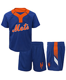 Outerstuff New York Mets Ground Rules Short Set, Infants (12-24 Months)
