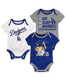 Outerstuff Los Angeles Dodgers Play Ball 3-Piece Set, Infants (12-24 Months)