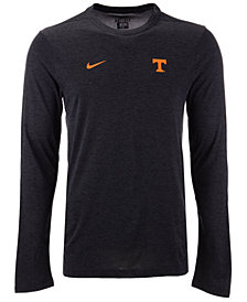 Nike Men's Tennessee Volunteers Long Sleeve Dri-Fit Coaches T-Shirt