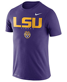 Nike Men's LSU Tigers Facility T-Shirt