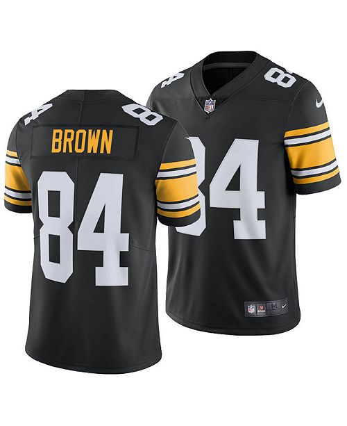 reputable site 1dd30 50d1e Men's Antonio Brown Pittsburgh Steelers Vapor Untouchable Limited Jersey