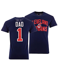Majestic Men's Cleveland Indians Team Dad T-Shirt