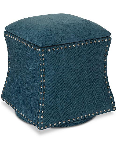 Furniture CLOSEOUT! Ladye Ottoman, Quick Ship