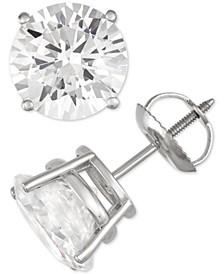 Diamond Stud Earrings (5 ct. t.w.) in 14k White Gold