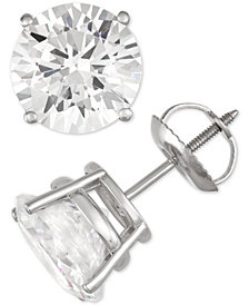 Diamond Stud Earrings (5 ct. t.w.) in 14k White Gold