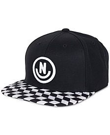Neff Men's Daily Smile 3D Embroidered-Logo Snapback Hat