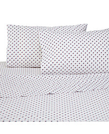 Southern Tide 200 Thread Count Cotton Percale 3-Pc. Printed Twin Sheet Set