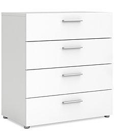 Gilla 4-Drawer Chest, Quick Ship
