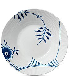 Blue Fluted Mega Pasta Bowl