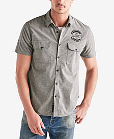 Lucky Brand Men's Castrol Shop Shirt