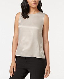 Sleeveless Top, Regular & Petite