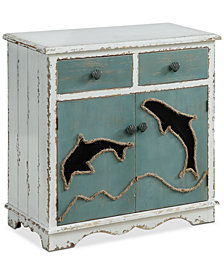 Sirea Two-Drawer Cabinet, Quick Ship