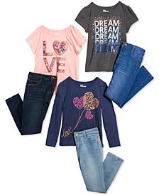 Epic Threads Little Girls T-Shirts & Jeans, Created for Macy's