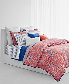 Lauren Ralph Lauren Alexis Cotton Reversible 3-Pc. King Duvet Set