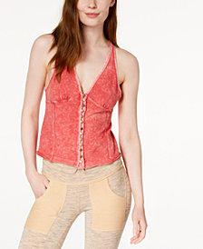 Free People Mylo Wrap-Back Tank Top