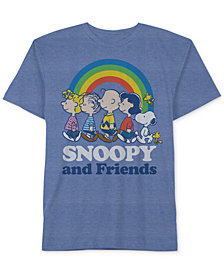 Peanuts Little Boys Snoopy Graphic-Print T-Shirt