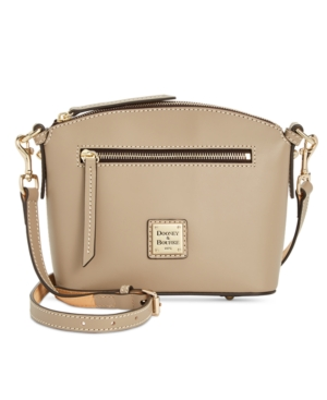 Image of Dooney & Bourke Beacon Domed Smooth Leather Crossbody