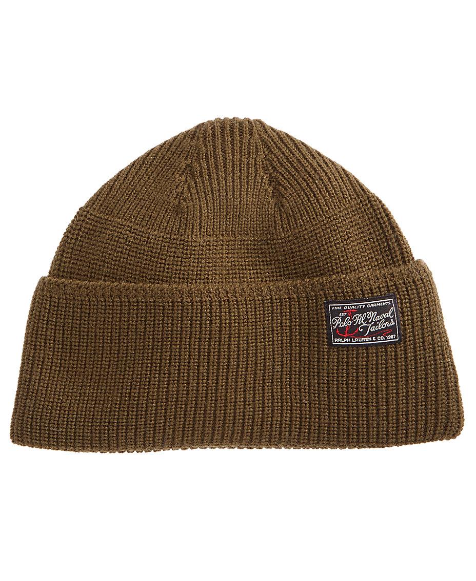 39f390b8e40 Polo Ralph Lauren Men s Wool Naval Watch Hat   Reviews - Hats ...