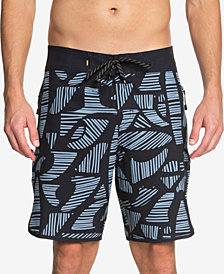 "Quiksilver Men's Waterman Odysea Printed 19"" Board Shorts"