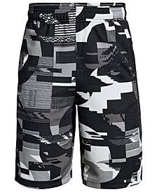 Under Armour Big Boys Printed Baseline Shorts