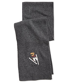 Polo Ralph Lauren Men's Ski Bear Scarf