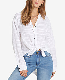 Billabong Juniors' Textured High-Low Shirt