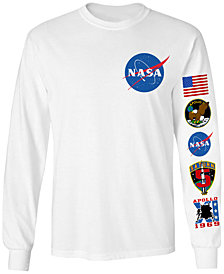 Changes Men's Long-Sleeve NASA Graphic T-Shirt