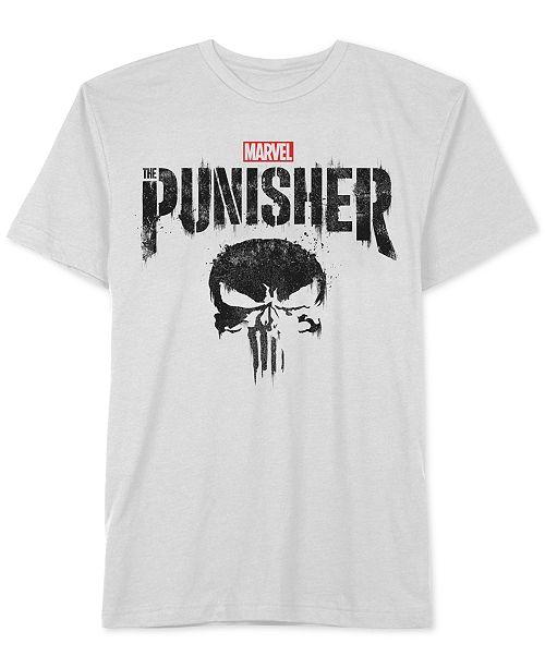 96adc410 Hybrid Men's Marvel Punisher Graphic T-Shirt - T-Shirts - Men - Macy's