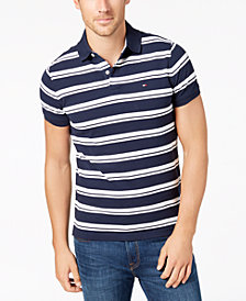 Tommy Hilfiger Men's Striped Polo, Created for Macy's