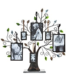 Godinger Tree Of Life Multi-Size Picture Holder & 6 Frames