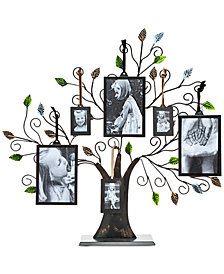 Philip Whitney Tree Of Life Multi-Size Picture Holder & 6 Frames