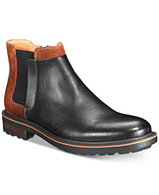 Bar III Men's Watson Two-Tone Chelsea Boots, Created for Macy's