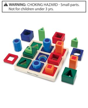 Melissa and Doug Kids Toy, Shape Sequence Sorting Set 595268
