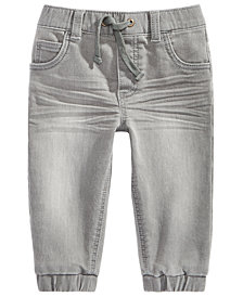 First Impressions Baby Boys Jogger Jeans, Created for Macy's