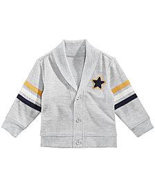 First Impressions Baby Boys Shawl-Collar Star Cardigan, Created for Macy's