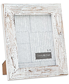 "Philip Whitney 8"" x 10"" White Barn Picture Frame"