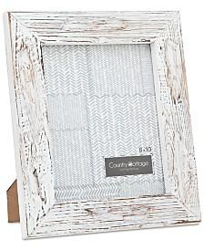 """Godinger Philip Whitney 8"""" x 10"""" White Barn Picture Frame"""