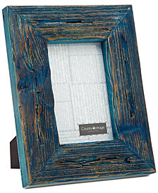 "Philip Whitney 4"" x 6"" Blue Barn Picture Frame"